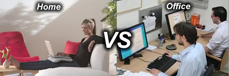 home vs office where should you work adzuna. Black Bedroom Furniture Sets. Home Design Ideas