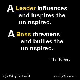 uninspirational bosses